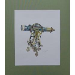 "Картина ""Тахеометр от Troughton & Simms Лондон, вторая половина XIX века"""