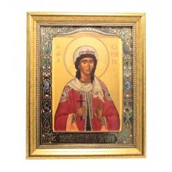 Икона святой Варвары 18x22
