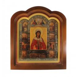 Икона святой Варвары 41,5x46