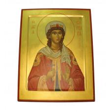 Икона святой Варвары 34x43 (ручная работа)